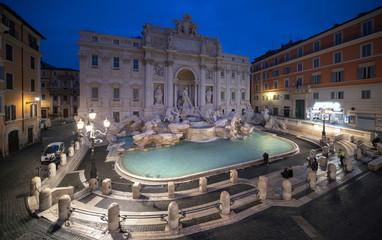 Photo sur Aluminium Rome Trevi fountain, Rome