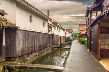 Kurayoshi, Tottori, Japan Old Town