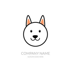 Animal Nature Farm Agriculture Business Company Stock Vector Logo Design Template