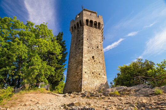 The Montale Tower of San Marino