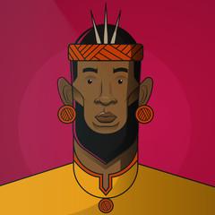 Illustration of king