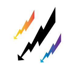 Symbols-Lightning Arrows