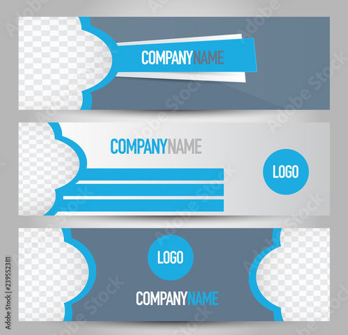 Banner template  Abstract background for design, business, education
