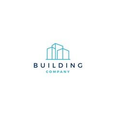 building logo vector illustration icon download