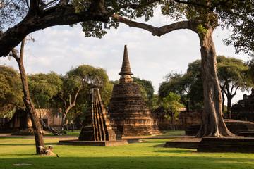 Parque historico de Ayutthaya, Tailandia