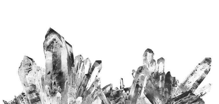 classic clear Crystal Quartz