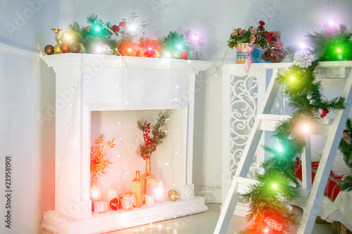 Beautiful Christmas Background Images.Living Room Decorated For Christmas Beautiful Christmas