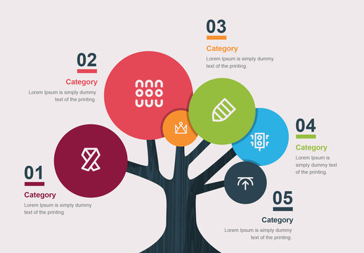 Tree Infographic Layout