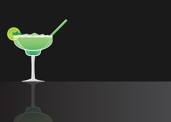 Margarita green meant cocktail
