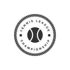 Tennis sport vector graphic design inspiration