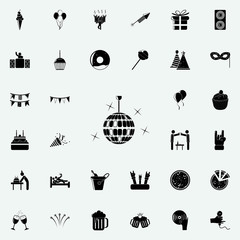 disco ball icon. Party icons universal set for web and mobile