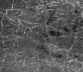 Black marble wall or flooring pattern surface texture. Close-up of interior material for design decoration background