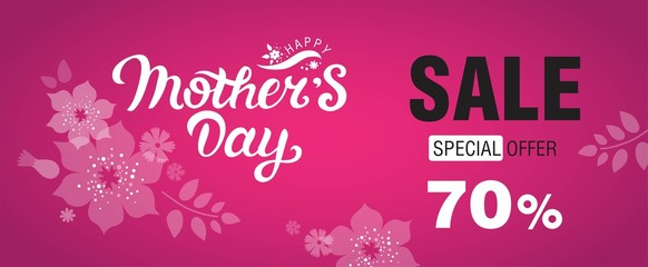 Happy Mothers Day Sale banner