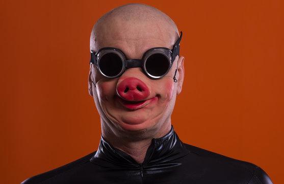 man in pig masks