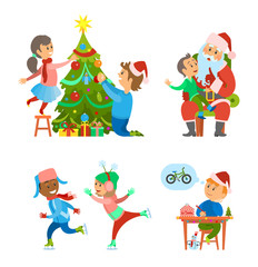 Christmas Holidays Preparation Tree Decoration