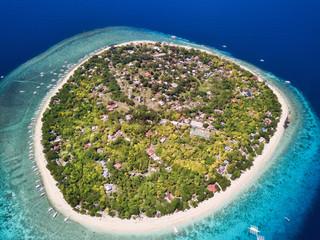 Balicasag Island, Philippines, aerial view