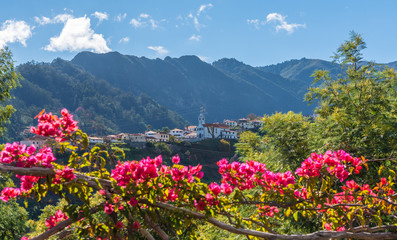 Wall Mural - Mountain village Sao Vicente, Madeira island, Portugal