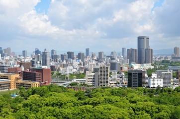 Skyline - Osaka, Japan