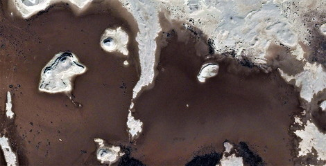 abstract photography of the deserts of Africa from the air,aerial view, abstract expressionism, contemporary photographic art, abstract naturalism,