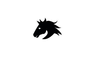 head horse vector design