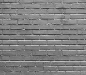 Gray brick wall pattern surface texture. Close-up of interior material for design decoration...