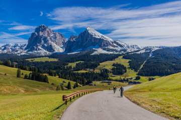 Canvas Prints New Zealand Alpe di Siusi/Seiser Alm in Südtirol