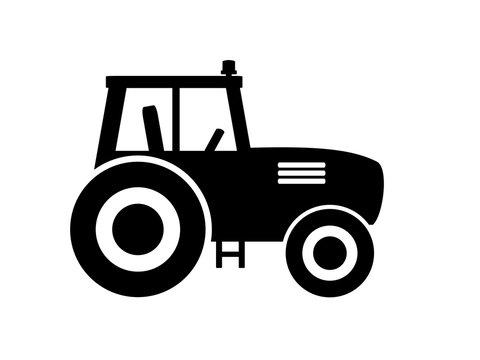 Icon Symbol zeigt Traktor