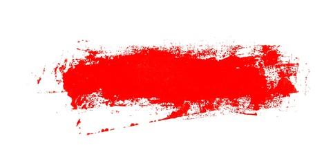 Unordentlicher handgemalter roter Hintergrund Banner