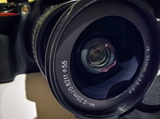 Detachable Lens on a Common DSLR Camera