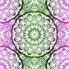 Vector Illustration. Pattern With Floral Seamless Ornament. Design For Print Fabric, Fashion.