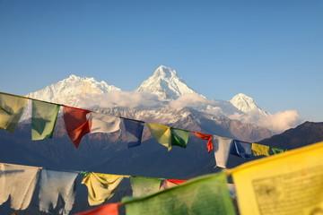 Poster Nepal Annapurna mountain range, Nepal