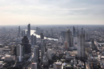 Bangkok skyline Thailand Asien