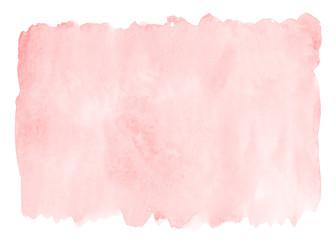 Obraz Pink watercolor background - fototapety do salonu