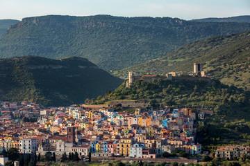 Skyline di Bosa (Nuoro) - Sardegna - Italia