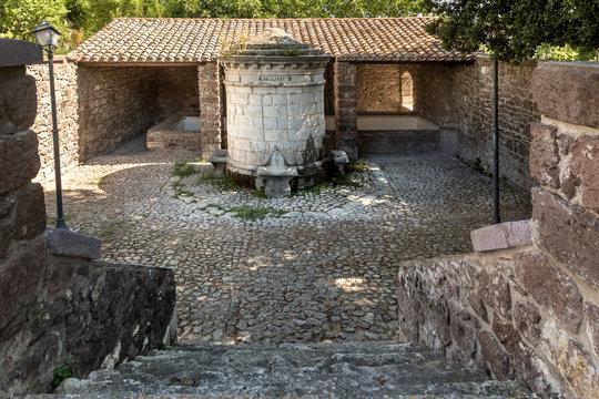 Complesso fontana manna  del Borgo di Bulzi provincia di Sassari - Sardegna - Italia