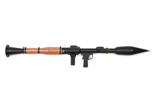 Charged Hand Grenade Launcher