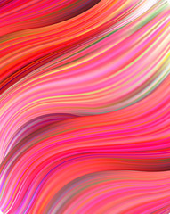 Modern colorful flow poster. Wave Liquid shape in blue color background