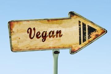 Schild 328 - Vegan