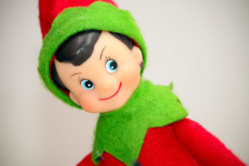 Christmas Elf Toy