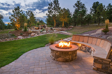 Photo Blinds Salmon Amazing Backyard Fire Pit