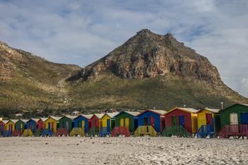 cabanes colorées de muizenberg