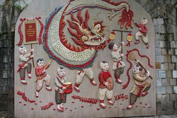 Wandbild Hanoi
