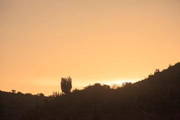 Sunset in Peru