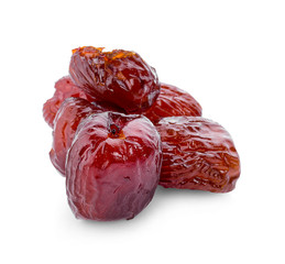 Jujube coating syrup on a white background. - Image