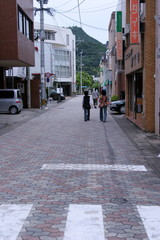 漁師町の路地
