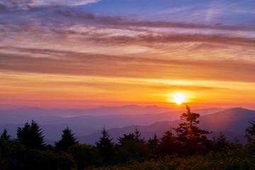 Sunrise on the Mountain