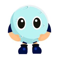 Mascot themed Moon