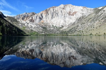 Mountain Lake Mirrored