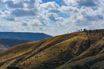 Mountains in Leon Guanajuato Mexico
