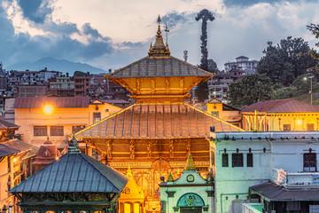 Pashupatinath temple in Kathmandu,Nepal